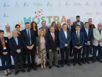 El president de la Generalitat ha incidido en la fortaleza de del sector turístico, que constituye el 14'6% del PIB y 15% del empleo.