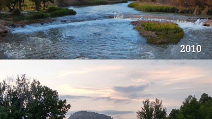 Imagen del río a su paso por Casas del Río facilitada por el PRyA.