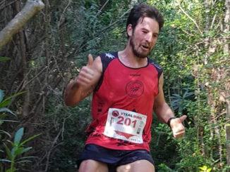Ganador absoluto en Sprint Trail, el local José Carrascosa 'Peluko'