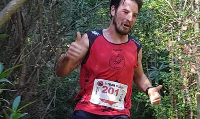 Ganador absoluto en Sprint Trail, el local José Carrascosa 'Peluko'