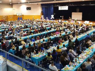 La Cena contra el Cáncer de Vilamarxant recauda más de 7.500 euros.