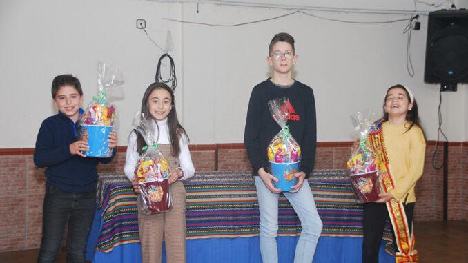 Estela López Pallás y Luís López Ferrer serán los representantes de la Comisión Infantil para el año 2020.