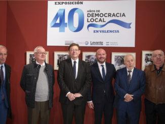 Los presidentes de la corporación y el Consell, Toni Gaspar y Ximo Puig, han recorrido esta exposición que podrá visitarse sábados y domingos hasta el 1 de diciembre con entrada libre.