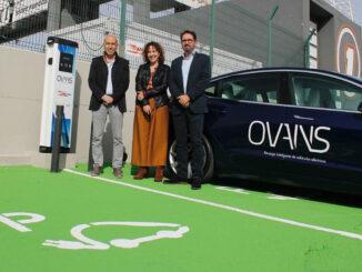 Los vehículos eléctricos podrán recargar sus baterías en el Circuit a partir del Gran Premio de este fin de semana.