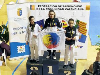 Daniela Furriol arriba del podio en Riba-roja.