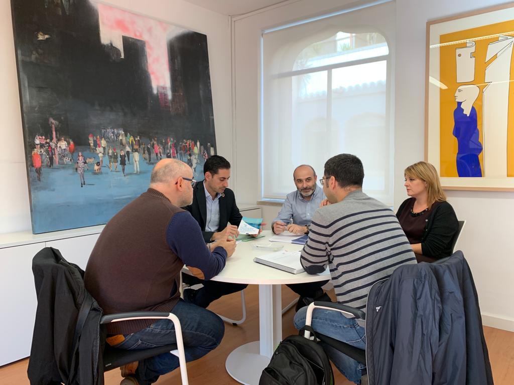 Reunió per a tractar els detalls del projecte Life Libernitrate.