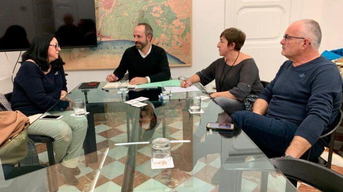 La alcaldesa de Sot de Chera visita la Diputació para interesarse por las colaboraciones de cara a 2020.