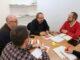 Ramiro Rivera con los representantes de la Ribera Alta y Baja.