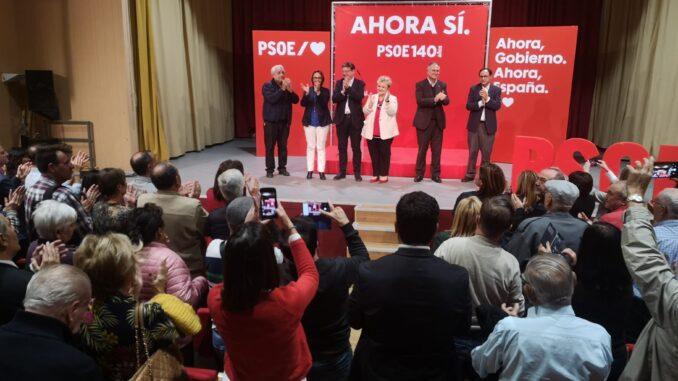 """Ximo Puig asegura que el próximo 10 de noviembre """"nos jugamos la sociedad del rencor frente a la sociedad abierta y de la alegría y el Partido Socialista apuesta por la alegría""""."""