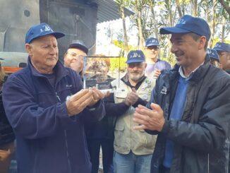 Riba-roja celebra el 30 aniversario de la fundación del Centro Ferroviario Vaporista con casi 2.000 visitantes.