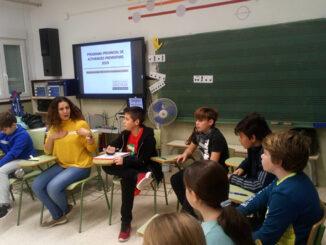 La Diputación imparte talleres de prevención de drogodependencias en los colegios Virgen del Carmen y El Garbí.