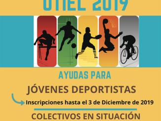 Abierto el plazo para solicitar becas deportivas en Utiel.