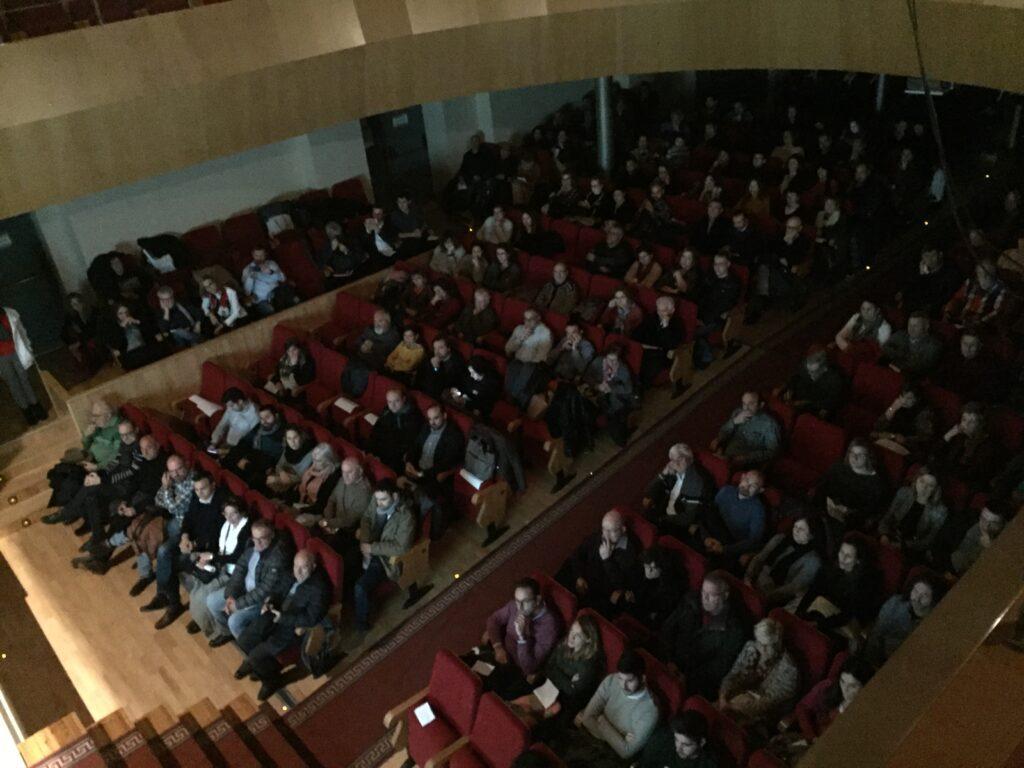 El Teatro García Berlanga de San Antonio ha sido el escenario elegido por la Mancomunidad del Interior Tierra del Vino.