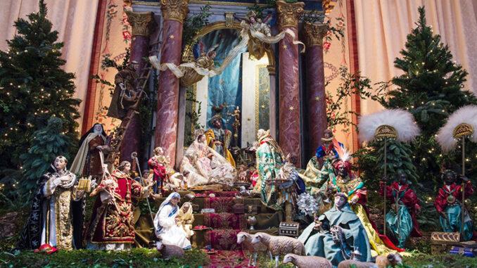 La Diputació abre sus puertas en Navidad con el Belén más valenciano.