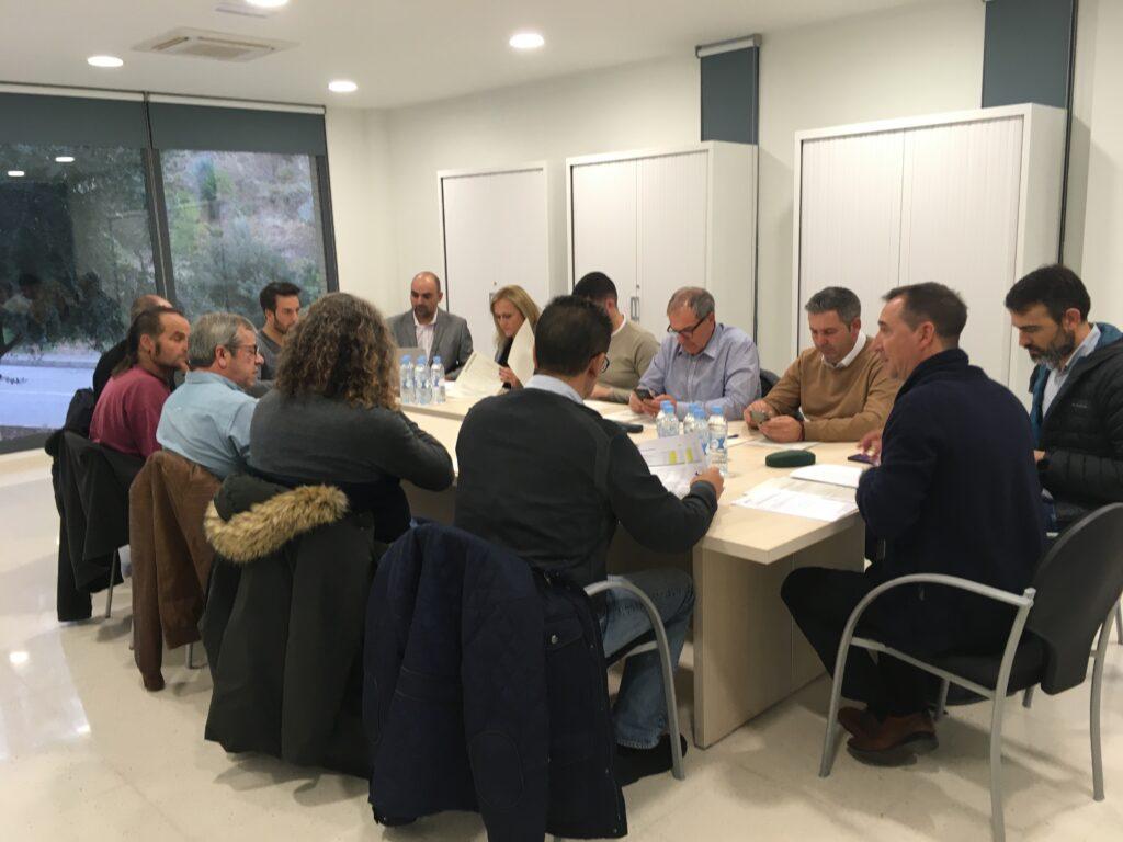 La nueva Junta de Gobierno del Consorcio Valencia Interior.