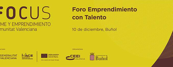Buñol acoge el último Foro Emprendimiento con Talento de 2019.