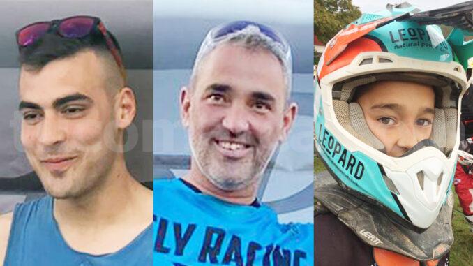 Jesús Higón, Isaías Galarza y Vicente Galarza, campeones de Enduro y Enduro Infantil.
