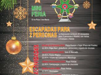 Campaña de Navidad de los comercios de Buñol.