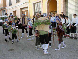 La Dansa dels Pastorets de Vilamarxant cumple su 40 aniversario desde su recuperación.