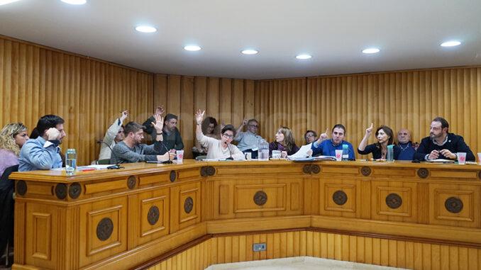Sesión plenaria del Ayuntamiento de Buñol.