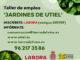 LABORA concede a Utiel un taller de empleo sobre jardinería.