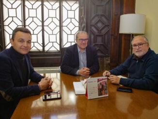 Toni Quintana, Antoni Such y Alejandro Portero.