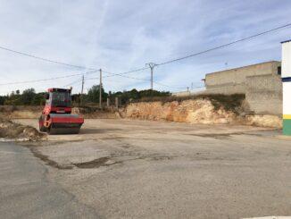 Vilamarxant finaliza los trabajos en la parcela colindante a la báscula para mejorar la accesibilidad de los vehículos agrícolas.