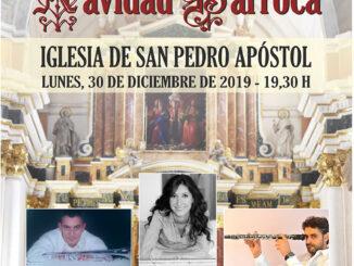Buñol despedirá el año con el concierto Navidad Barroca.