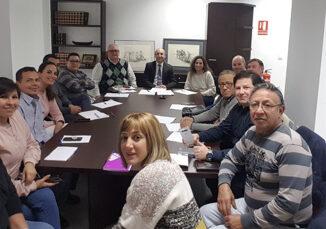 Integrantes de la Asociación social Repoblar Valencia Rural.