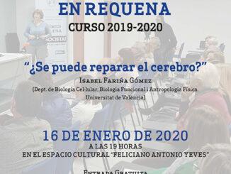 Será este jueves 16 de enero a las 7 de la tarde en el Salón de Actos del Espacio Cultural Feliciano Antonio Yeves, con entrada libre y gratuita.