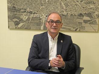 El alcalde de Benaguasil, Ximo Segarra.