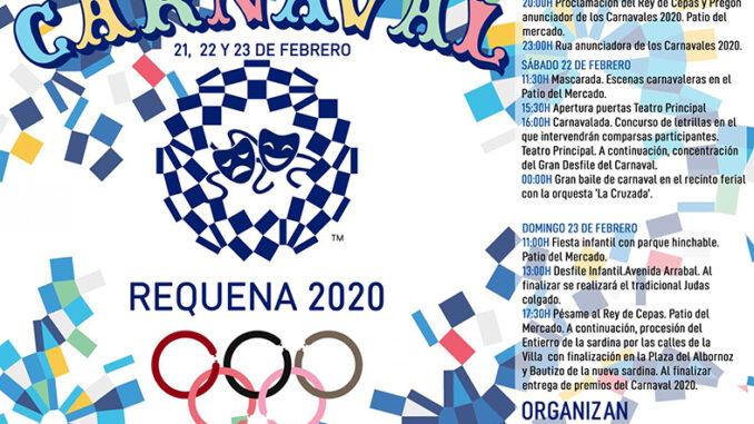 Carnaval de Requena 2020.