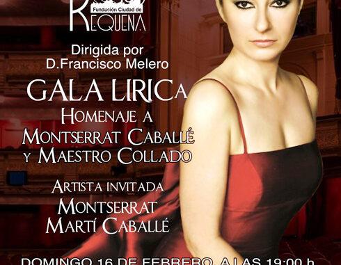 Requena homenajea a Montserrat Caballé y al maestro José María Cervera Collado.