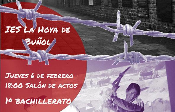 El próximo jueves 6 de febrero tendrá lugar el acto público que da conclusión al III Concurso por la Memoria Histórica que organiza el IES La Hoya de Buñol.