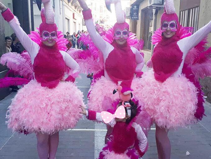Primer premio disfraz individual «Flamencas sin olé».