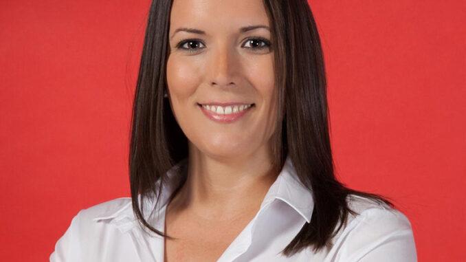La diputada Amparo Orts.