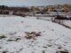 Fuerte nevada en Requena el 19 de enero de 2017.
