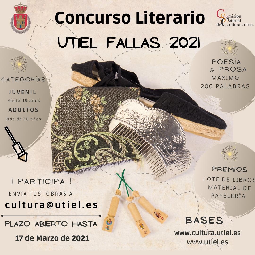 Concurslo Literario Fallas Utiel 2021